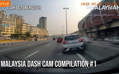 Malaysia Dash Cam Video Compilation #1