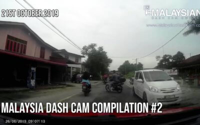 Malaysia Dash Cam Video Compilation #2