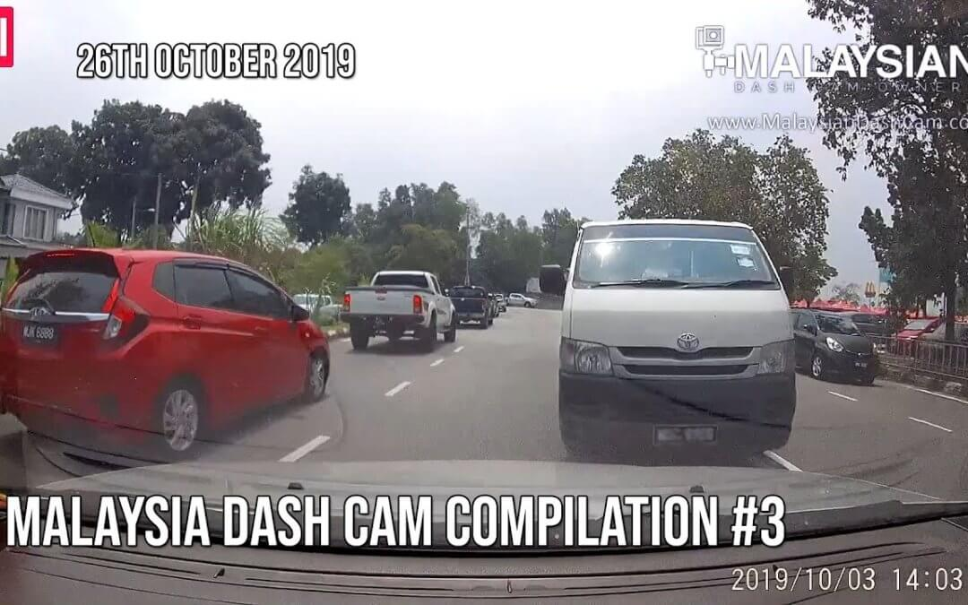 Malaysia Dash Cam Video Compilation #3
