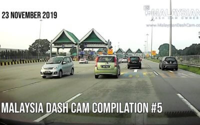 Malaysia Dash Cam Video Compilation #5