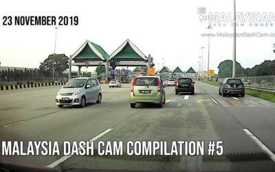 Malaysia Dash Cam Video Compilation #5