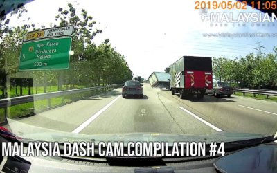 Malaysia Dash Cam Video Compilation #4