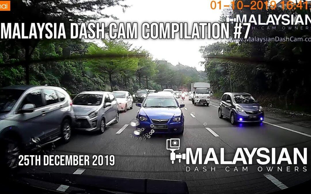Malaysia Dash Cam Video Compilation #7