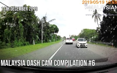 Malaysia Dash Cam Video Compilation #6