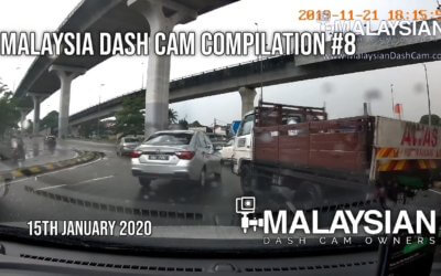 Malaysia Dash Cam Video Compilation #8