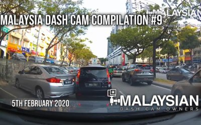 Malaysia Dash Cam Video Compilation #9